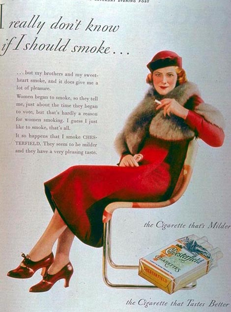 a discussion on the commercials on cigarettes When was the commercial cigars cigarettes cigarillos aired and by whom - trivia question /questions answer / answers.