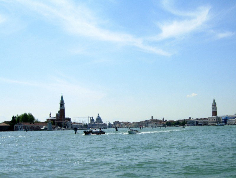 Leaving Venice after an amazing trip.  Photo by Dr. Beall-Fofana