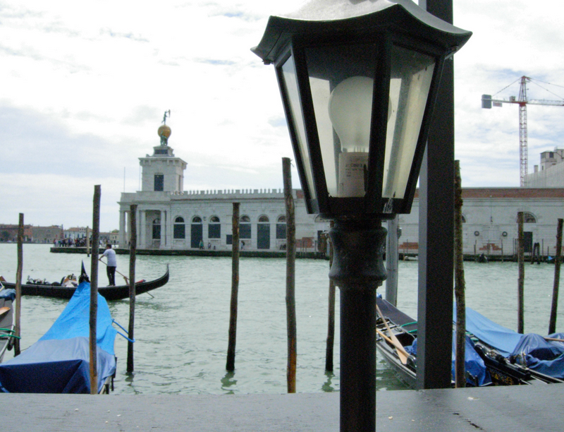 At the tip of the Dorsoduro region in Venice, the Dogana (Former Sea Customs Port and current home to a contemporary art gallery).  Photo by Dr. Beall-Fofana