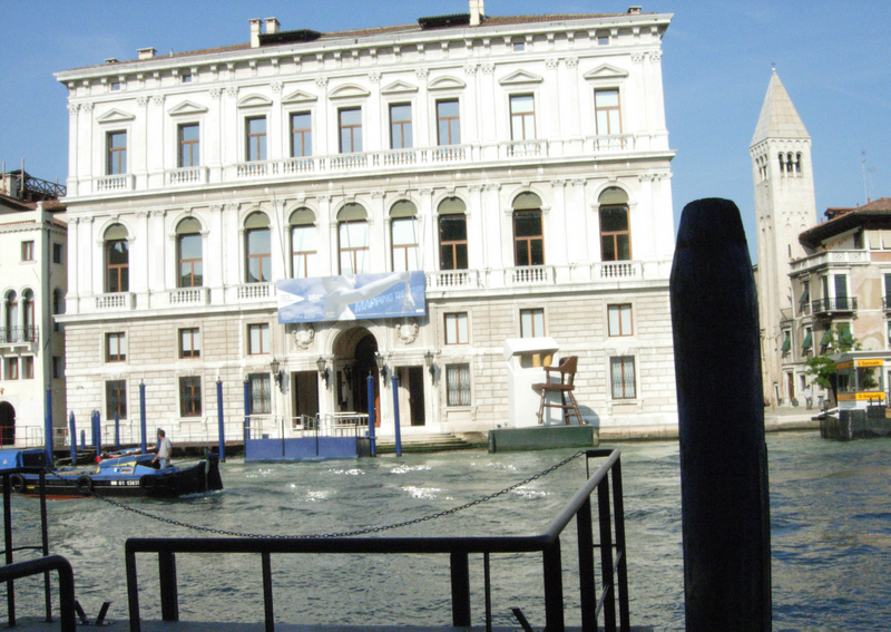 The Palazzo Grassi (also with holdings of contemporary art).  Photo by Dr. Beall-Fofana.