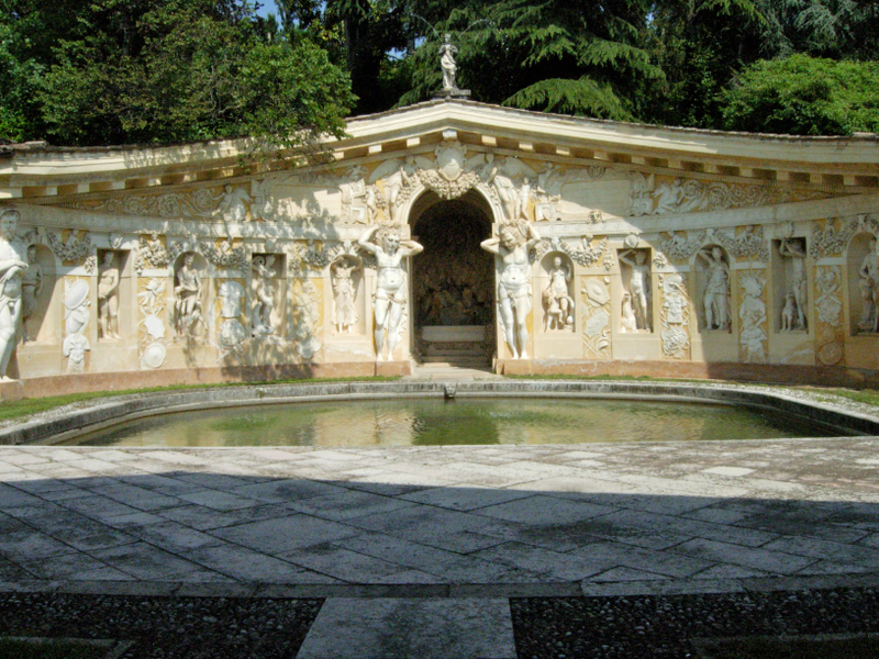 The Villa Barbaro &amp; its Nymphaeum.  Photo by Dr. Beall-Fofana.