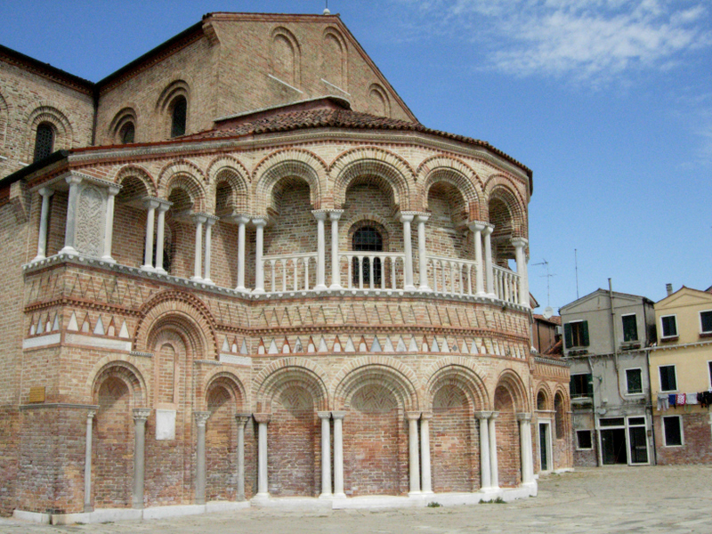 The Church of Santa Maria e San Donato.  Photo by Dr. Beall-Fofana