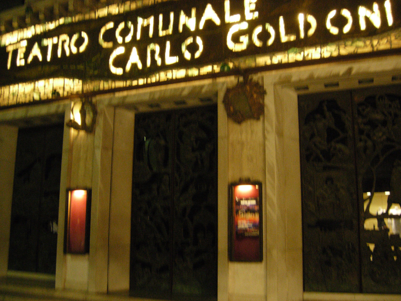 The Teatro Comunale di Carlo Goldoni (a Venetian playwright).  Photo by Dr. Beall-Fofana