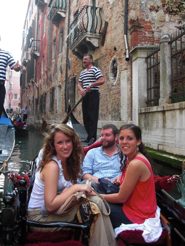 Gondola Rides on the canals of Venice.  Photo by Susan Konola.